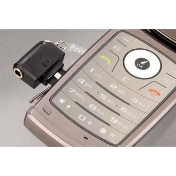 Адаптер Hama Mini для LG 3.5мм черный (H-104834) - фото 3