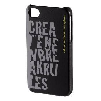 Чехол для телефона Aha Croom 3D H-103457 black для Apple iPhone 4/4S пластик - фото 1