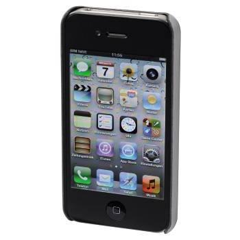 Чехол для телефона Aha Croom 3D H-103457 black для Apple iPhone 4/4S пластик - фото 2