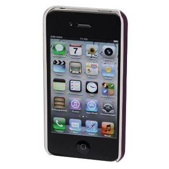 Чехол для телефона Aha Jam 3D H-103459 purple для Apple iPhone 4/4S пластик - фото 2