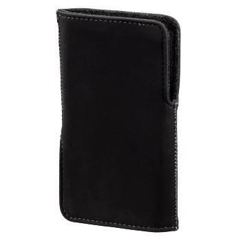 Чехол для мобильного телефона Hama Twin-Way Case черный велюр (1.2х11.5х6.5см) (H-106700) - фото 1