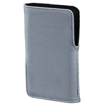 Чехол для мобильного телефона Hama Twin-Way Case голубой велюр 1.2х11.5х6.5см (H-106708) - фото 1