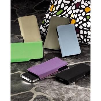 Чехол для мобильного телефона Hama Twin-Way Case голубой велюр 1.2х11.5х6.5см (H-106708) - фото 2