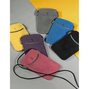 Чехол для мобильного телефона Hama Smile желтый микрофибра (13.2х9х1.0см) (H-106723) - фото 2