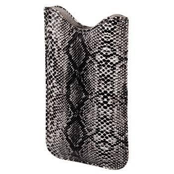 Чехол для мобильного телефона Hama Python черный полиуретан/кожа (11.5х6.5х1.2см) (H-106750) - фото 1