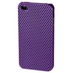 Чехол для iPhone 4/4S Hama Air фиолетовый пластик (H-107141) - фото 1