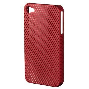 Чехол для iPhone 4/4S Hama Air красный пластик (H-107303) - фото 1