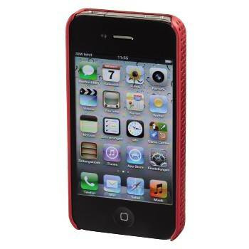 Чехол для iPhone 4/4S Hama Air красный пластик (H-107303) - фото 2