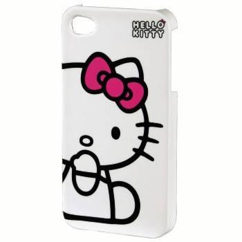 Футляр Hello Kitty H-107321 e iPhone 4/4S пластик белый Hello Kitty  - фото 1