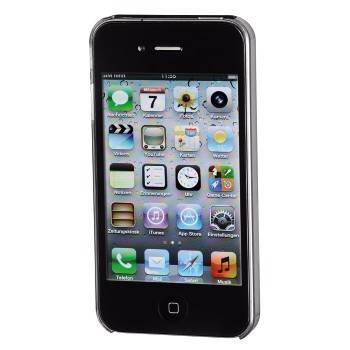 Чехол для iPhone 4/4S Hama Fancy черный пластик (H-107327) - фото 2