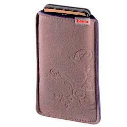 Чехол Hama H-107398 для мобильного телефона Soft Bag 1.3 x 11.5 x 6 см плотная микрофибра серый - фото 1