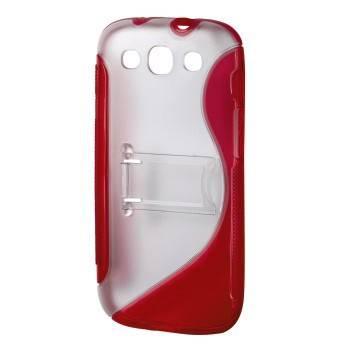 Чехол для телефона Hama TPU Combi Case H-108438 red для Samsung Galaxy S III - фото 1