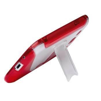 Чехол для телефона Hama TPU Combi Case H-108438 red для Samsung Galaxy S III - фото 3