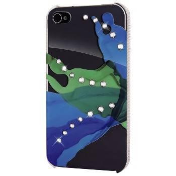 Чехол для телефона White Diamonds Liquids H-108514 blue/green для Apple iPhone 4/4S - фото 1