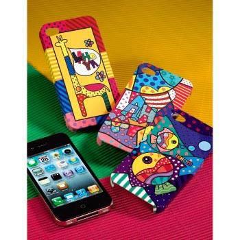 """Чехол для iPhone 4/4S Hama Lahoya Heart рисунок """"Сердечки"""" (H-108577) - фото 4"""