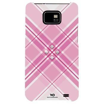 Чехол для телефона White Diamonds Grid H-108688 pink для Samsung GT-I9100 Galaxy S II - фото 1