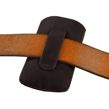 Чехол Hama H-109381 Velvet Pouch Square для мобильного телефона 12.5 х 6 х 1.8 см велюр коричневый - фото 3