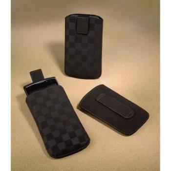 Чехол Hama H-109381 Velvet Pouch Square для мобильного телефона 12.5 х 6 х 1.8 см велюр коричневый - фото 4