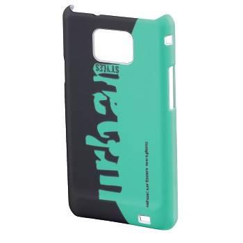 Чехол для телефона Aha Grass H-109386 black/green для Samsung Galaxy S II пластик - фото 1