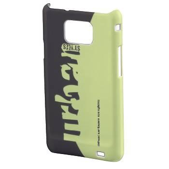 Чехол для телефона Aha Grass H-109388 black/green для Samsung Galaxy S II пластик - фото 1