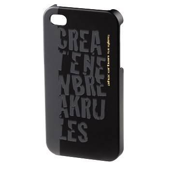 Чехол для телефона Aha Croom H-115344 black для Apple iPhone 4/4S пластик - фото 1