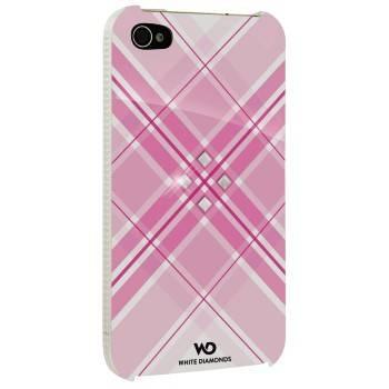 Чехол для телефона White Diamonds Grid H-115388 pink для Apple iPhone 4/4S - фото 1
