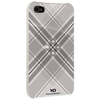 Чехол для телефона White Diamonds Grid H-115390 white для Apple iPhone 4/4S - фото 1