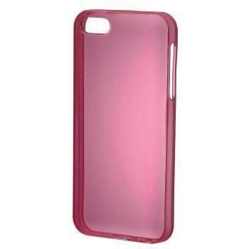 Футляр Hama H-118882 TPU Light для Apple iPhone 5 пластик розовый  - фото 1