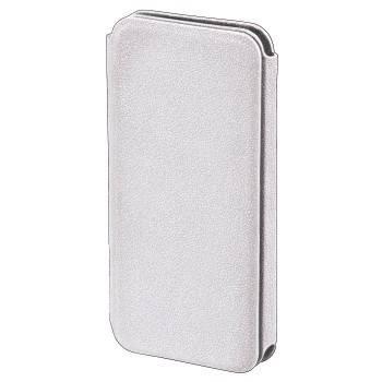 Чехол Hama H-118930 -книжка Diary для мобильного телефона Apple iPhone 5 кожзам белый  - фото 1