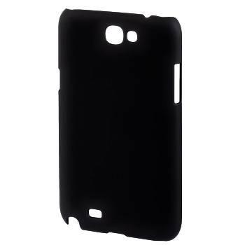Футляр Hama H-87853 Rubber для Samsung Galaxy Note 2 прорезиненная поверхность пластик черный  - фото 1