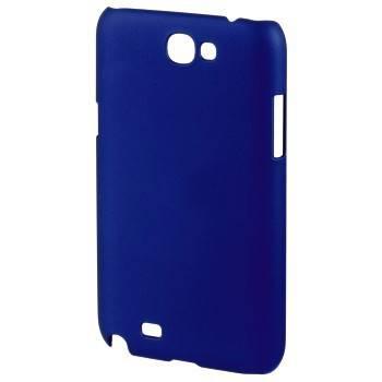 Футляр Hama H-87855 Rubber для Samsung Galaxy Note 2 прорезиненная поверхность пластик синий  - фото 1