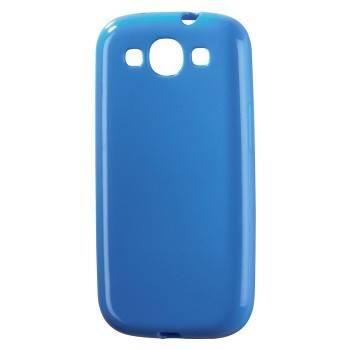 Футляр Hama H-91520 TPU для Samsung Galaxy S III mini пластик синий  - фото 1