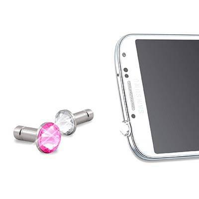 Комплект заглушек White Diamonds WD-4610PIN20 для Galaxy S 4 - фото 2