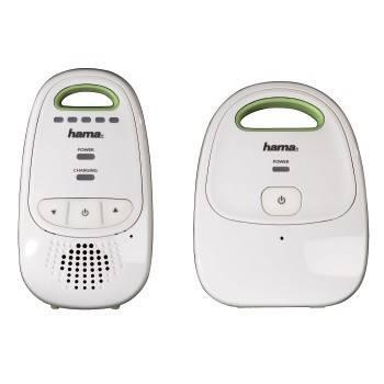 Радио-няня Hama BM1000 белый/зеленый - фото 1