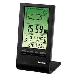 Термометр Hama TH-100 H-75297 черный - фото 1
