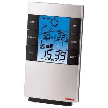 Термометр Hama TH-200 H-87682 серебристый