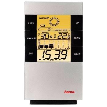 Термометр Hama TH-200 H-87682 серебристый - фото 3