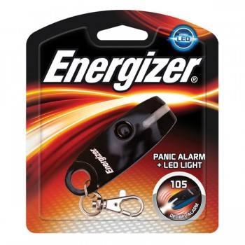 Фонарь-брелок Energizer Panic Alarm черный (633531)