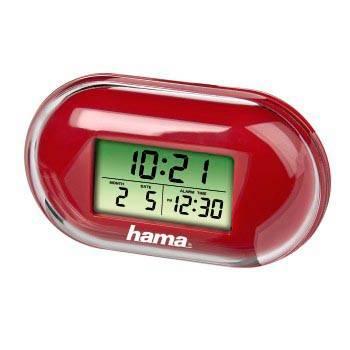 Будильник Hama Fashio H-104911 цифровые красный - фото 1