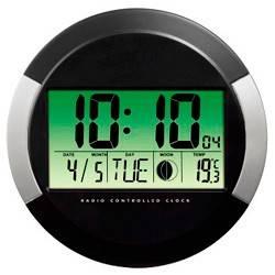 Настенные часы Hama PP-245 H-104936 черный (00104936)