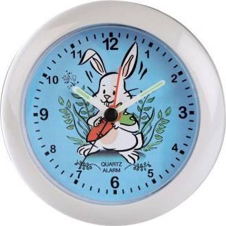 Будильник Hama Rabbit H-106947 аналоговые белый - фото 1
