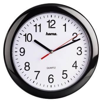 Настенные часы Hama PP-250 H-113920 черный (00113920)