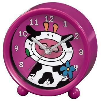 Будильник Hama Cow H-113932 аналоговые розовый - фото 1
