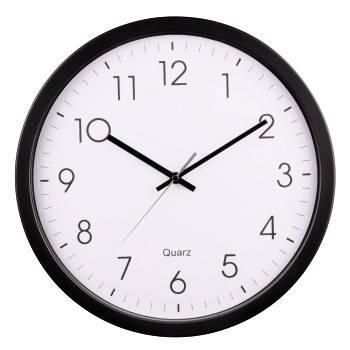 Настенные часы Hama PG-350 H-113976 черный/белый (00113976) - фото 1