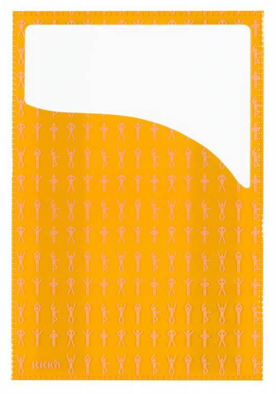 Набор самоклеящихся карманов Спорт, 3 размера (А4, 20 х 14 см, 10 х 23 см), цвет - ассорти, STICK'N. - фото 3