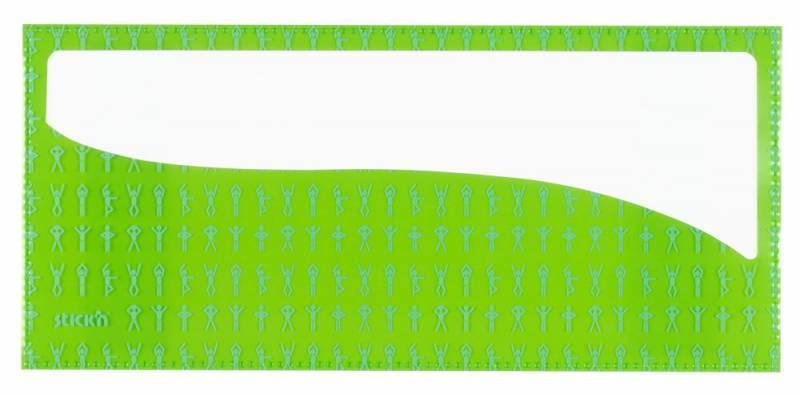 Набор самоклеящихся карманов Спорт, 3 размера (А4, 20 х 14 см, 10 х 23 см), цвет - ассорти, STICK'N. - фото 4