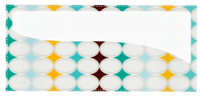 Набор самоклеящихся карманов Узор, 3 размера (А4, 20 х 14 см, 10 х 23 см), цвет - ассорти, STICK'N. - фото 4