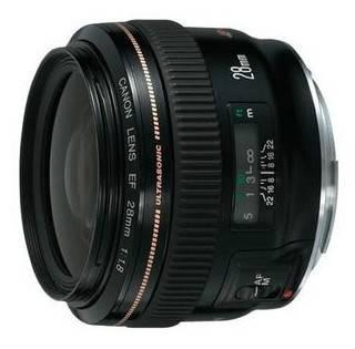 Объектив Canon EF USM 28mm f / 1.8