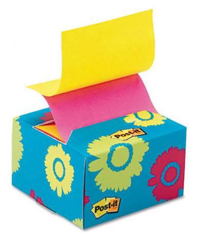 Блок самоклеящийся бумажный 3M Post-it 7000029871 76x76мм 200лист. Z сложение диспенсер - фото 1