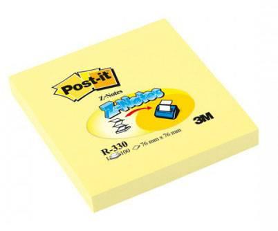 Z- блокнот для диспенсера POST-IT, 76х76 мм, 100 листов, желтый, 3М - фото 2